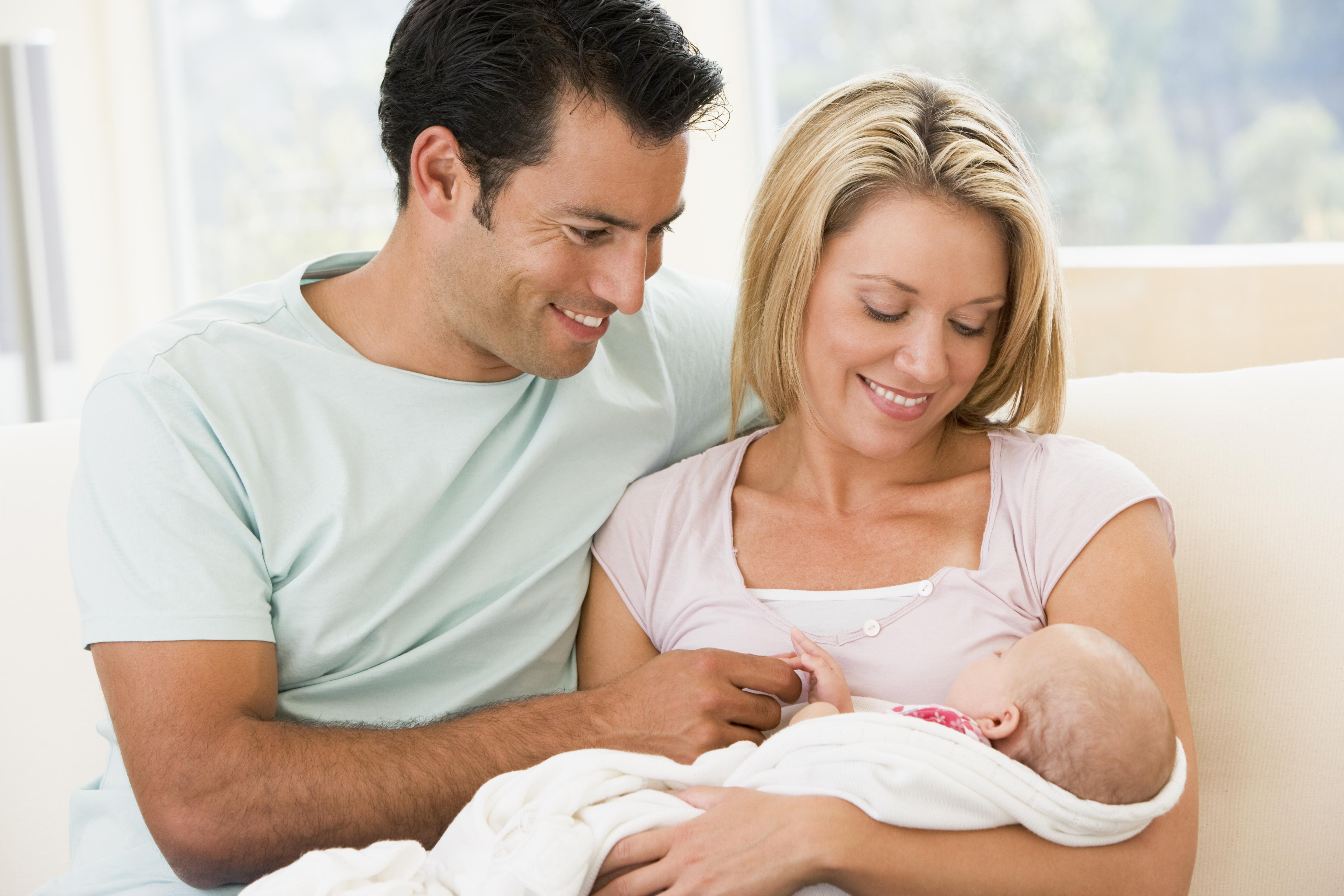 Фото жени и ребенка