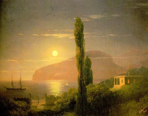 Ivan-Constantinovich-Aivazovsky-xx-A-Lunar-night-in-the-Crimea-xx-Private-Collection.jpg