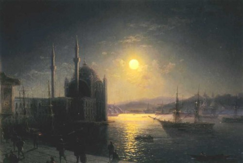 Ivan-Constantinovich-Aivazovsky-xx-A-Lunar-night-on-the-Bosphorus-xx-Private-Collection.jpg