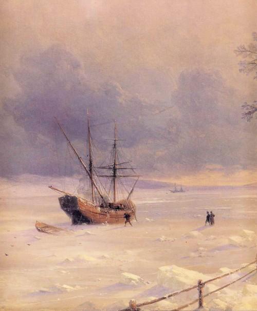 Ivan_Constantinovich_Aivazovsky_-_Frozen_Bosphorus_Under_Snow_detail.jpg