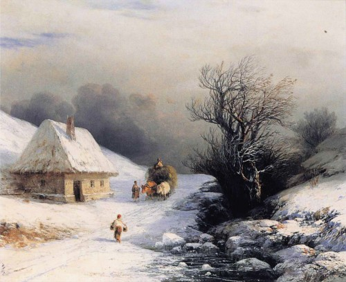 Ivan_Constantinovich_Aivazovsky_-_Little_Russian_Ox_Cart_in_Winter.jpg