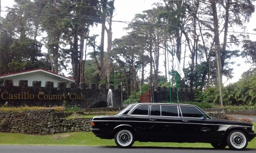 CastilloCountryClubSanRafaelCostaRica.MERCEDESLANGCLASSICLIMOUSINERIDES..jpg